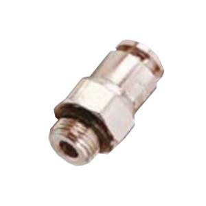 Raccord instantané pneumatique droit mâle BSP cylindrique