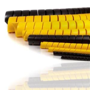 Protection spiralée pour flexibles