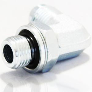 Adapteur MJ X MGCYL inox 90° orientable