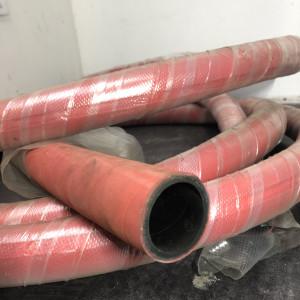 Tuyau de refoulement d'eau EPDM blanc/rouge