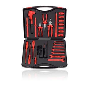 Caisse à outils isolés 1000 V - 26 pièces