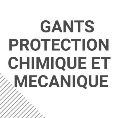 Gants protection chimique et mécanique