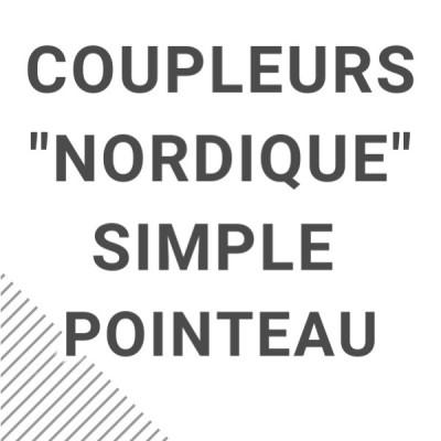 """""""Nordique"""" simple pointeau"""